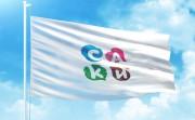 Туристическая эмблема города Саки